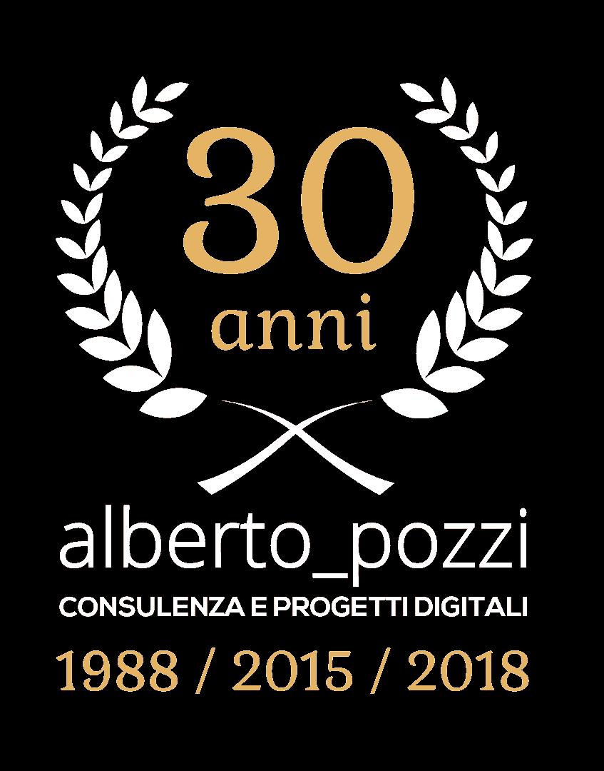 30 anni di consulenza Alberto pozzi