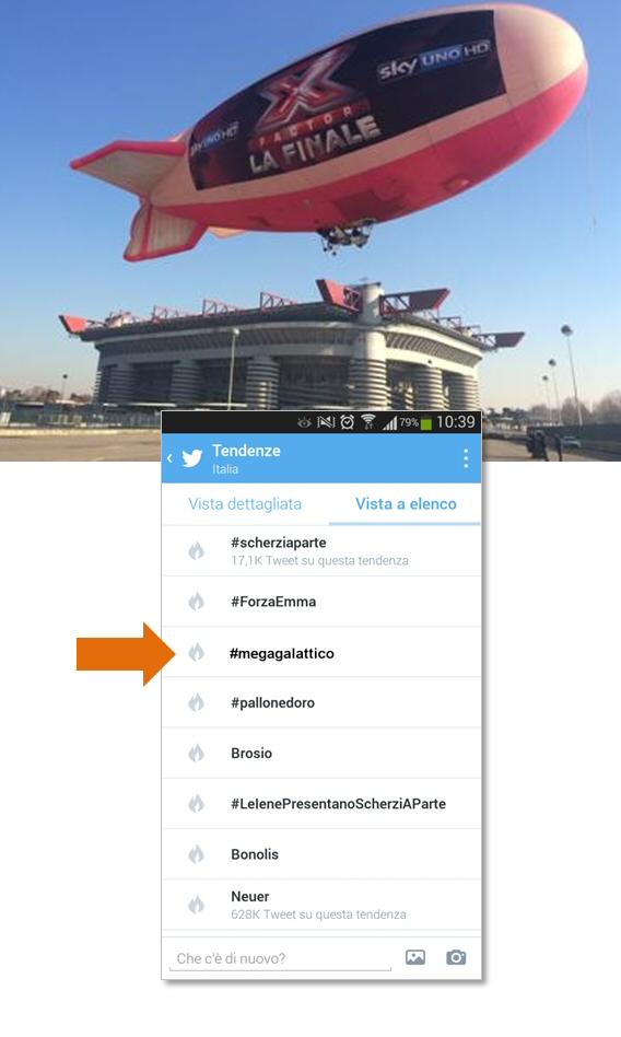 Wallapop - dirigibile twitter - Alberto Pozzi web manager