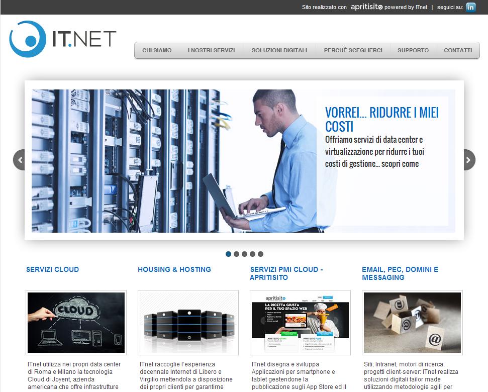 IT.NET – nuovo sito web