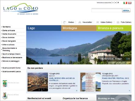 Lakecomo.it – il portale sul turismo del Lago di Como