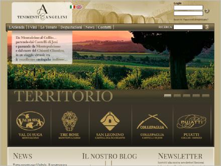 Tenimenti Angelini – sito produttore di Brunello di Montalcino