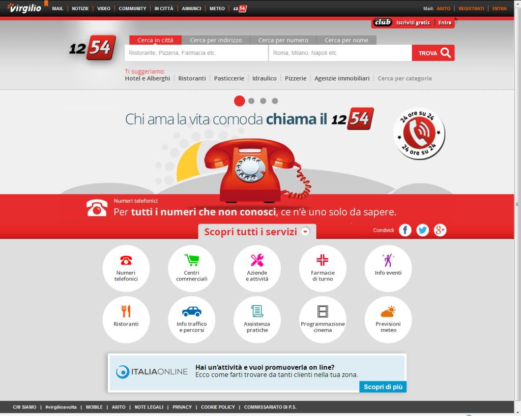 1254 - progetto alberto pozzi - web manager