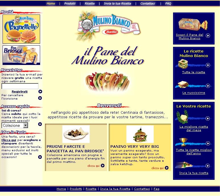 Pane del Mulino - progetto- Alberto Pozzi - web manager