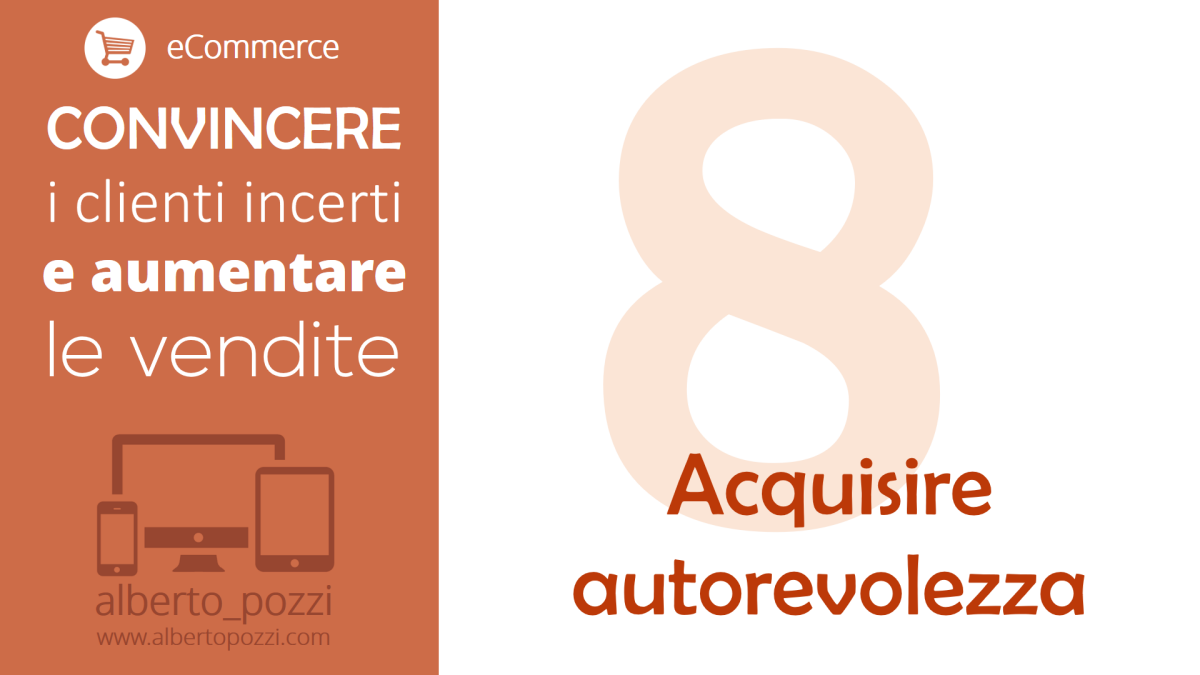eCommerce: Acquisire Autorevolezza
