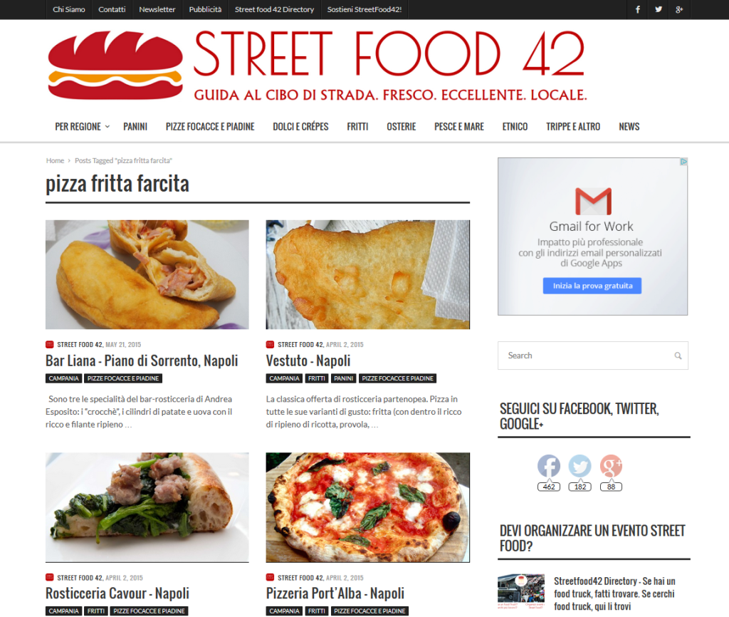 lista street food