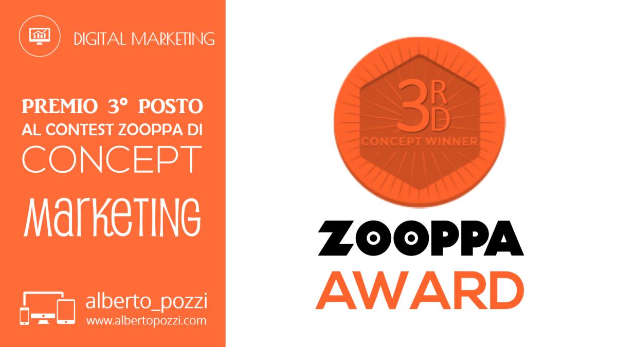 """Vittoria premio Zooppa di concept marketing """"Insieme sulla nostra pelle"""""""