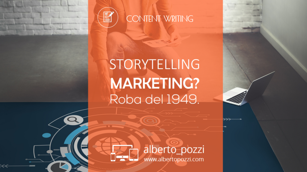 Storytelling marketing - The hero's journey - Joseph Campbell - Alberto Pozzi - Web manager