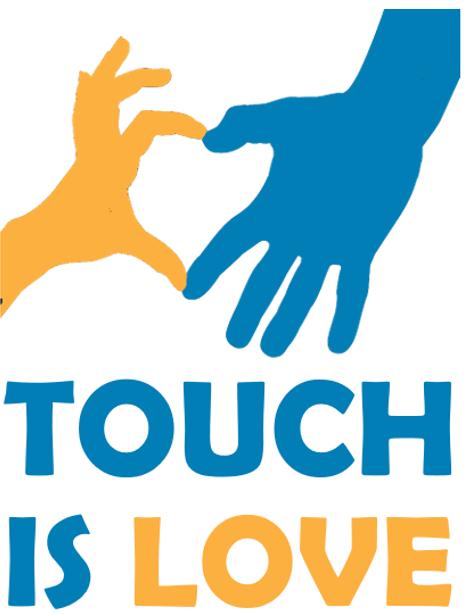 logo Touch is love - Alberto Pozzi