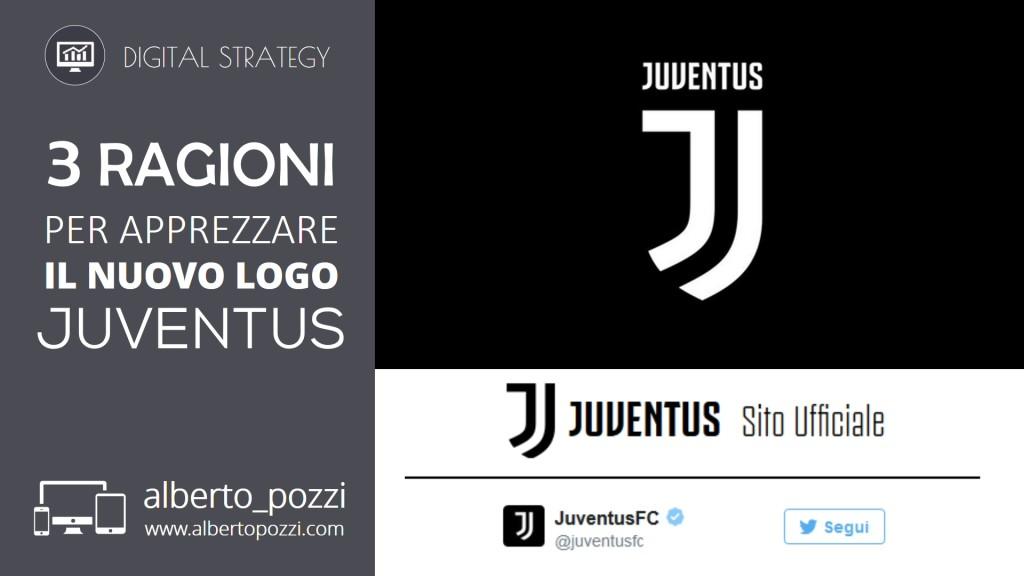 3 ragioni per apprezzare il nuovo logo Juventus - Alberto Pozzi