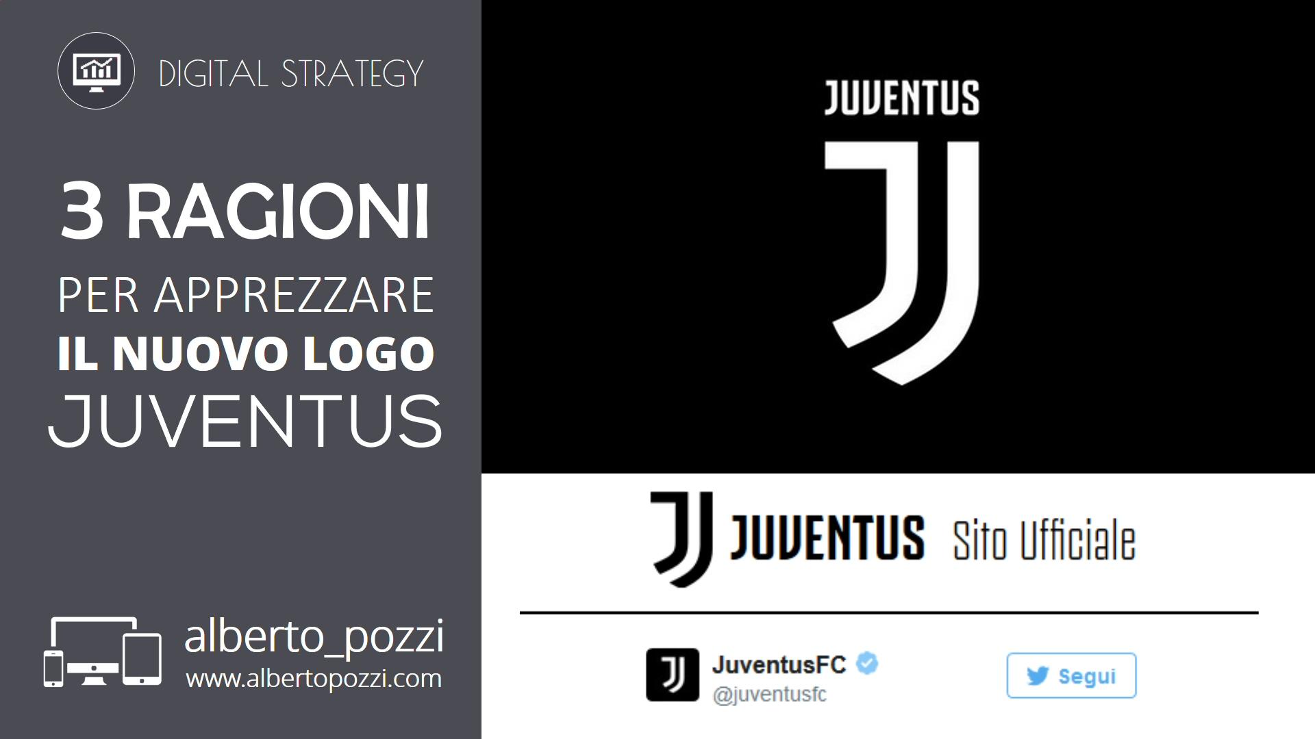3 ragioni per apprezzare il nuovo logo Juventus