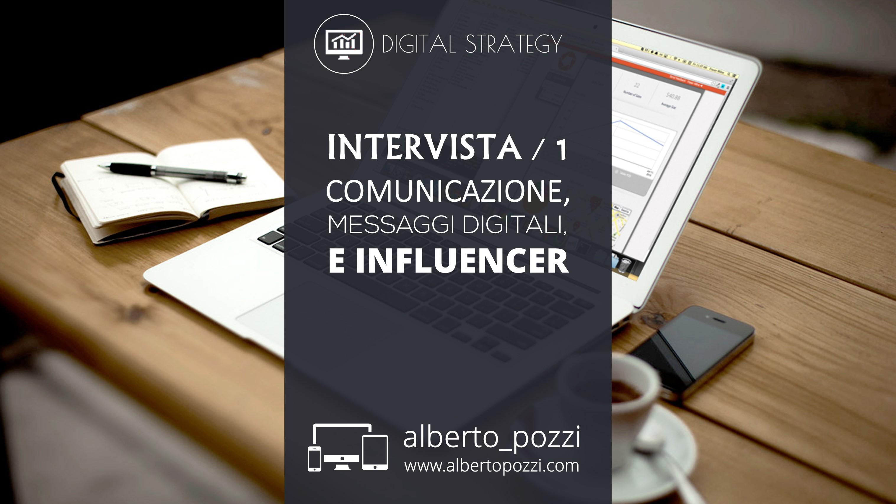 Comunicazione digitale e influencer
