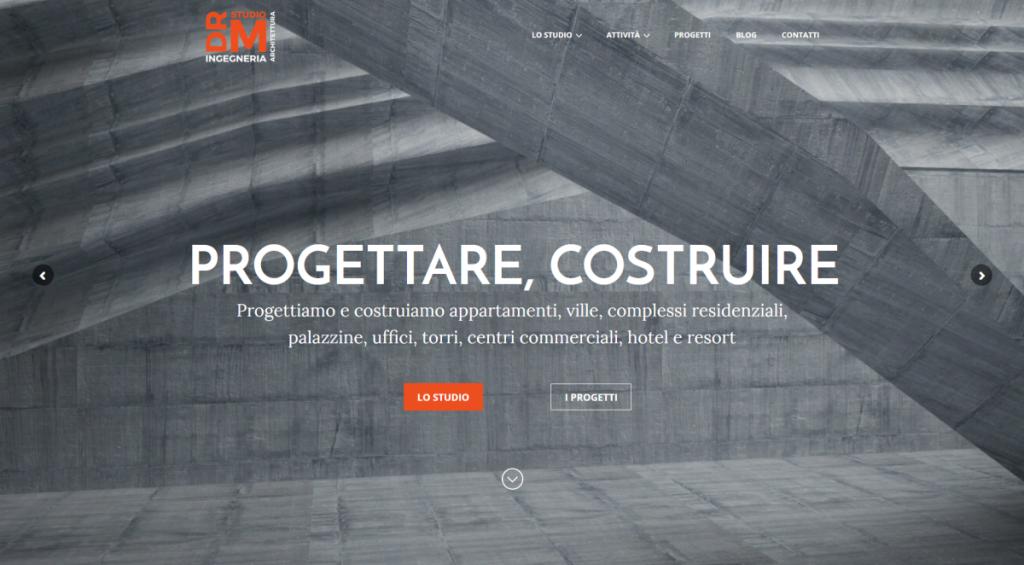 DRM Studio, Monza - progetto Alberto Pozzi - Web manager