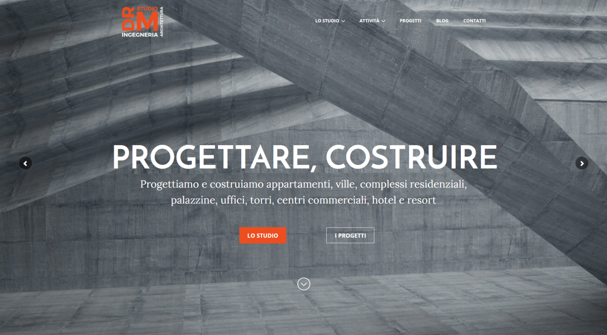 DRM STUDIO: logo, strategia digitale, contenuti, sito, blog, SEO
