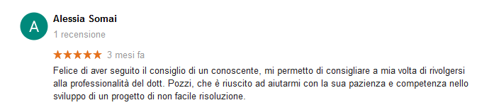 Recensione Alessia Somai - Alberto Pozzi