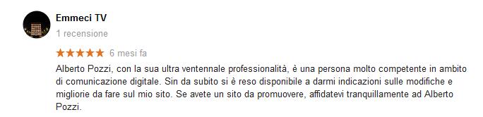 Recensione Emmeci - Alberto Pozzi