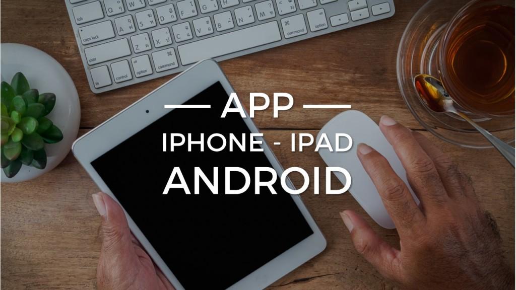 App iphone- ipad e android - Alberto Pozzi Monza