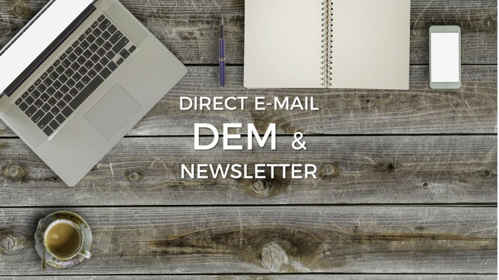 DEM direct mail, newsletter - Alberto Pozzi Monza