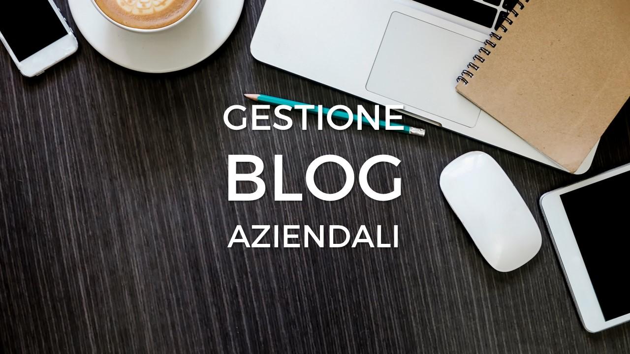 Gestione Blog aziendali