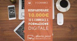 Risparmiare 10.000€ su progetti e-commerce e formazione digitale