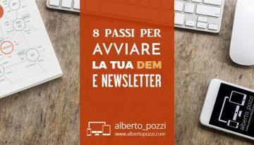 8 passi per avviare la tua DEM / newsletter