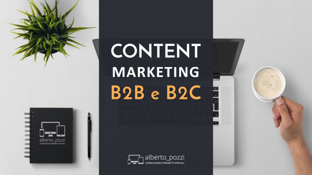 Content Marketing: pensa a cosa vuole il tuo target - Infografica Alberto Pozzi