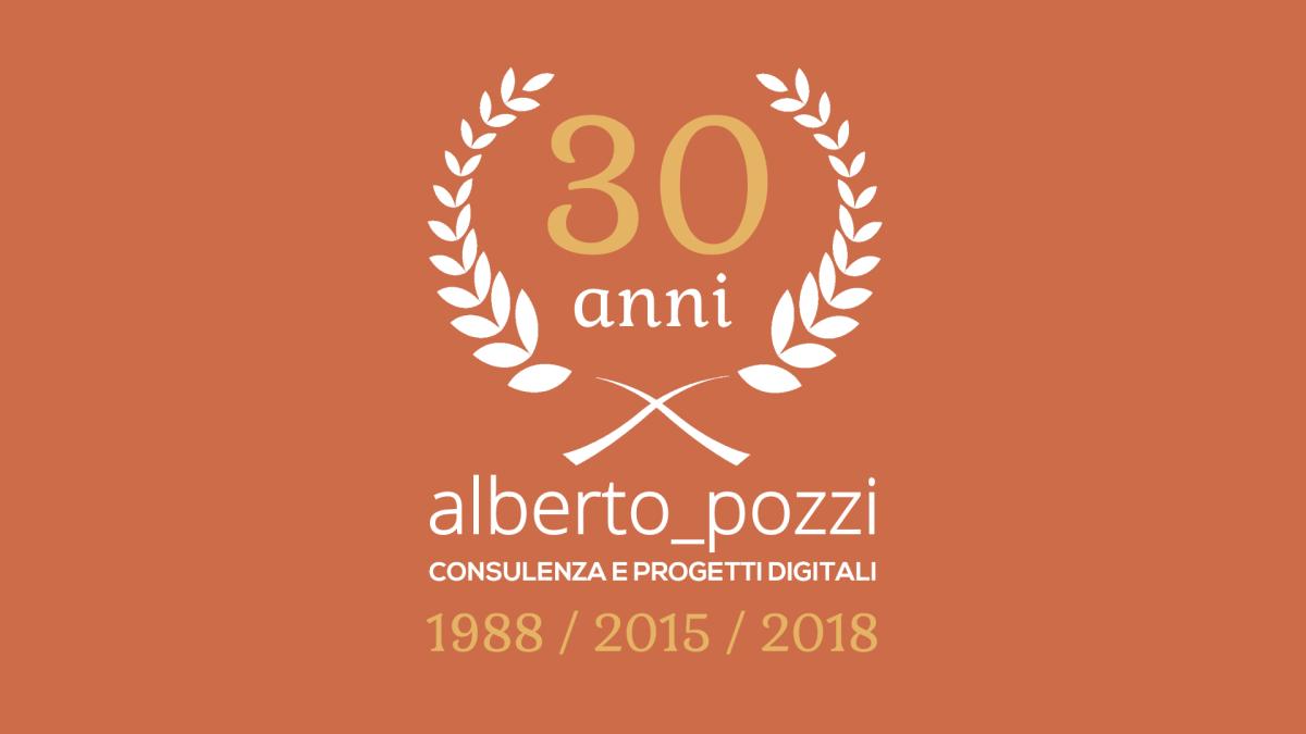 Alberto Pozzi - consulente digitale 30 anni