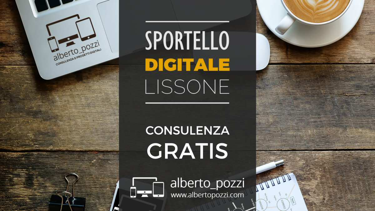 Sportello Digitale Lissone: consulenza gratis per aziende