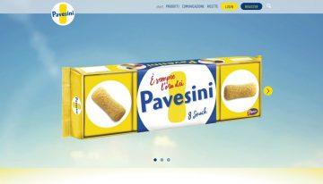 PAVESINI PAVESI: revisione e aggiornamento sito web
