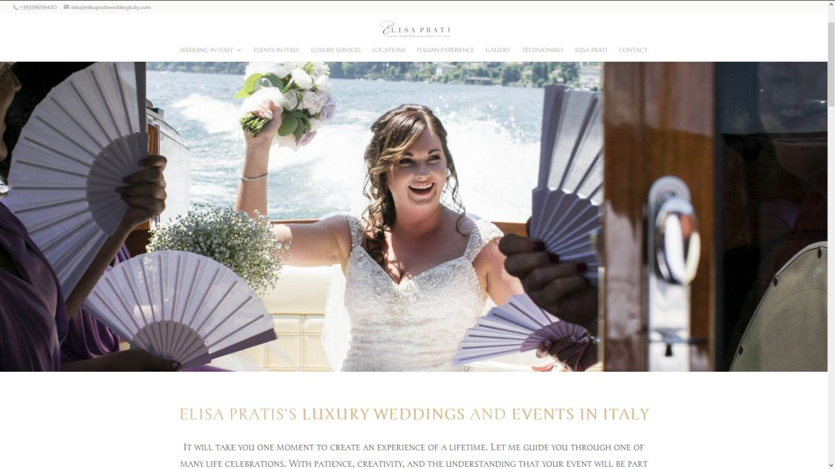 Wedding planner Elisa Prati - Alberto Pozzi