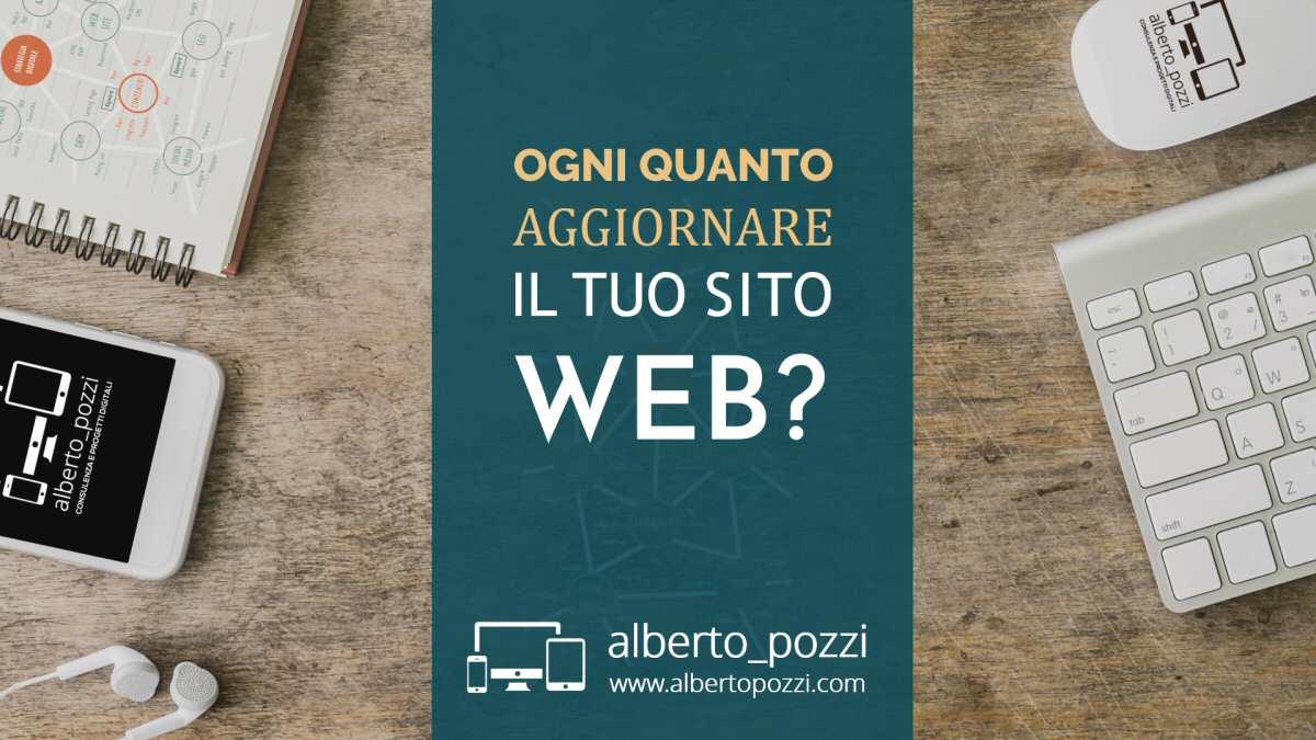 Ogni quanto aggiornare il tuo sito web?