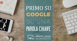 Essere 'primo su Google' su una parola chiave