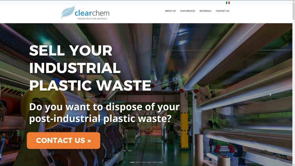 CLEARCHEM: avvio nuovo sito web brand industriale B2B