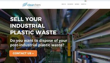 CLEARCHEM: start-up nuovo sito