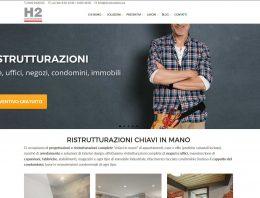 H2 Costruzioni: strategia, contenuti, nuovo sito, SEO