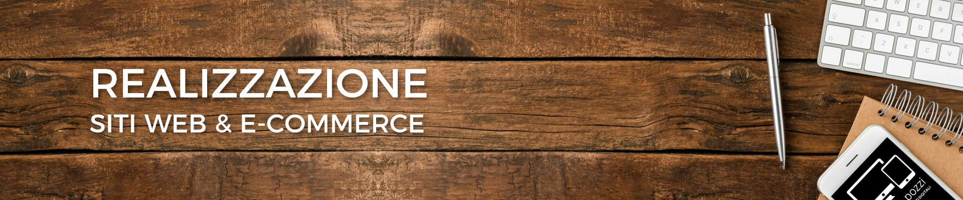 Realizzazione siti web e ecommerce