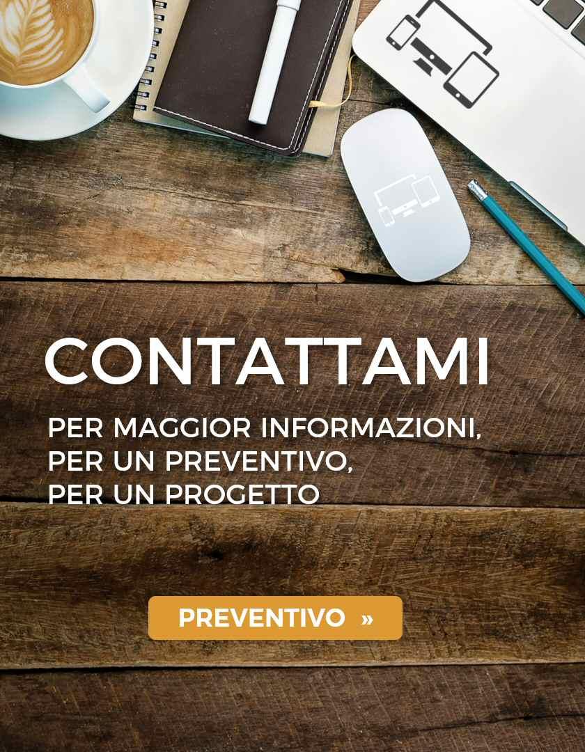 Contattami preventivo sito web Monza